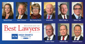 9 High Swartz Attorneys Recognized as Best Lawyers in